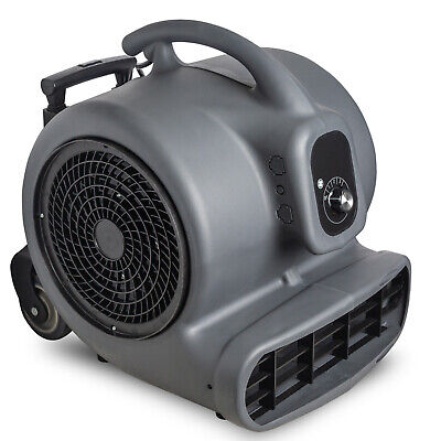 1 Hp Air Mover Durable Lightweight Carpet Dryer Utility Floor Blower Janitorial