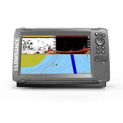 Lowrance Hook2 9 SplitShot Fishfinder/GPS Combo w/ Transducer US Costal Charts