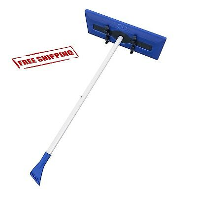 Snow Removal Tool Ice Scrapper Snow Joe Anti Freeze Broom Brush Remover Compact
