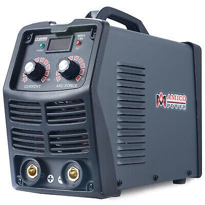 Mma-180 180 Amp Stick Arc Igbt Digital Inverter Dc Welder 120v 240v Welding