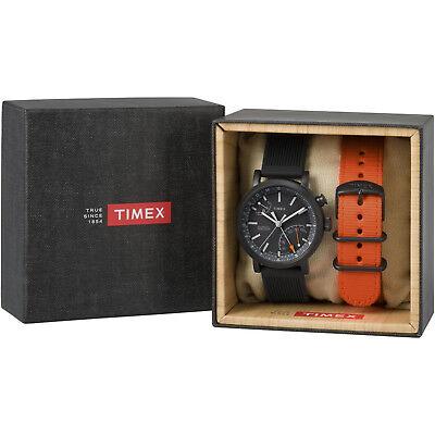 Timex Metropolitan+ Gift Set | Analog Activity Tracker w Extra Strap | TWG012600