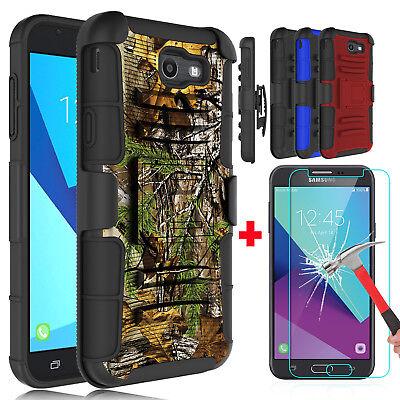 For Samsung Galaxy J7 Sky Pro/V/J7 Prime Kickstand Phone Case / Screen Protector