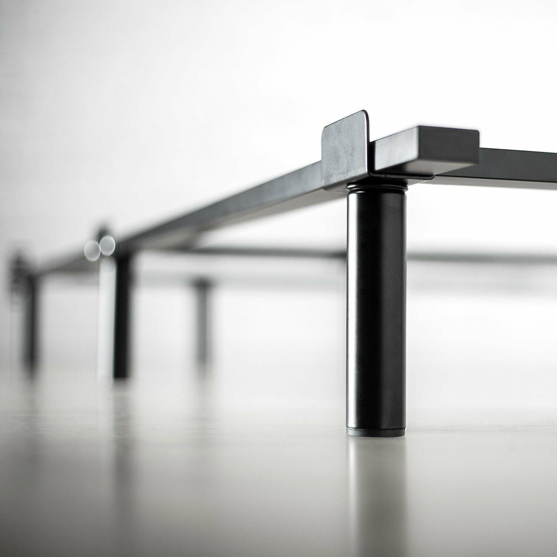 heavy duty bed frame metal base adjustable