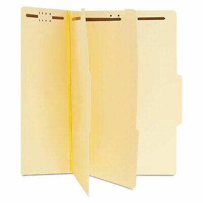 Universal Manila Classification Folders Letter Six-section 15box 10300