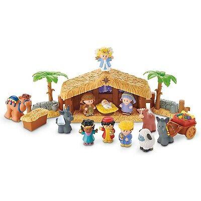 Nativity Set Indoor Christmas Holiday Scene Decor Christian Story Gift Indoor Nativity Set