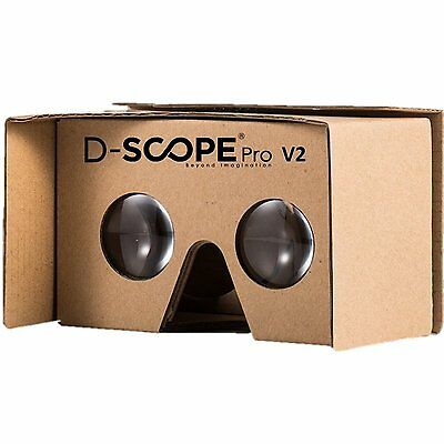 Google Cardboard V2 By D Scope Pro  Tm  3D Virtual Reality