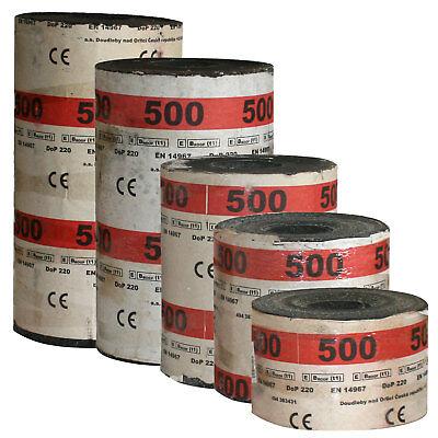 Bitumen-Isolierpappe R500 Mauersperrbahn verschiedenen Längen 10lfm Isolierung