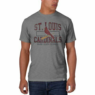 Scrum Basic Tee - NWT New MLB St. Louis Cardinals '47 Brand Men's Scrum Basic Tee T Shirt Small S