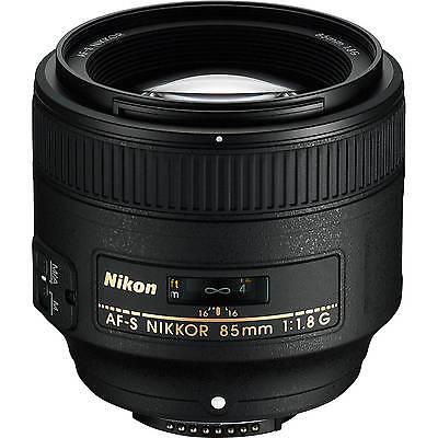 Nikon AF-S NIKKOR 85mm f/1.8G Lens Portrait Lens For Nikon DSLR 2201 W/ Cloth for sale  Fort Lauderdale