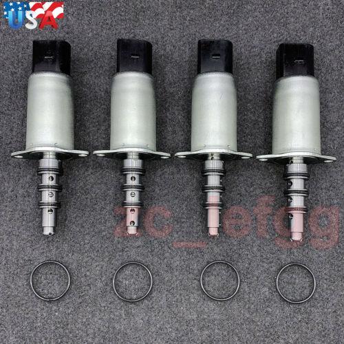 4PCS VANOS Solenoid Valve w//Oring for BMW M5 M6 E60 E61 E63 E64 S85 Base 5.0L