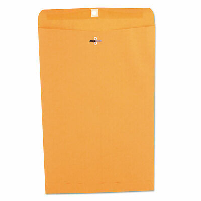 Universal Kraft Clasp Envelope Center Seam 28lb 10 X 15 Brown Kraft 100box