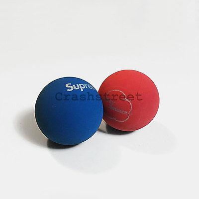 Supreme SS16 Skybounce Handball Ball Blue / Red Box logo tee cap