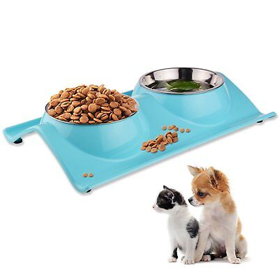 LOVE'S Dog Bowls Pet Food Bowl Raised Cat Puppy Bowls No Spill Elevated Eating