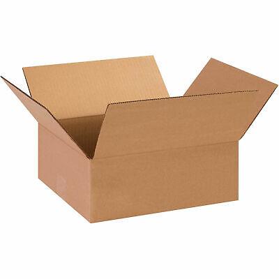 13 X 11 X 5 Flat Cardboard Corrugated Boxes 65 Lbs Capacity 200ect-32