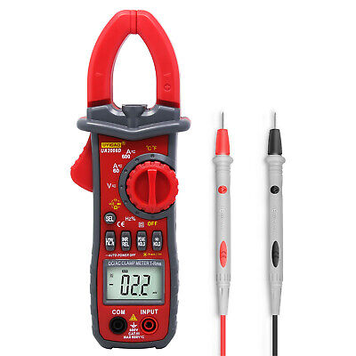 Lcd Digital Clamp Meter Multimeter Acdc Current Voltage Multimeter Tester Yo