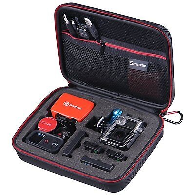 Smatree Compact Carrying Case For Gopro Hero 6 5 4 3  3 Gopro Hero  2018  Small