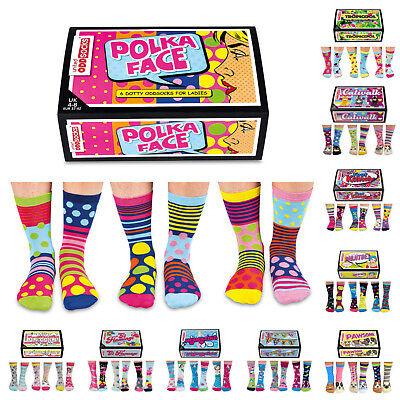 bunte Socken Strümpfe Frauen Gr. 37-42 Geschenkverpackung Damenstrümpfe
