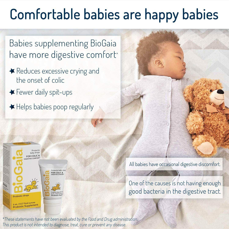 BioGaia Protectis Probiotics Drops, Baby, Infants, Newborn and Kids, 5mL 3