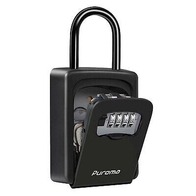 Puroma Key Lock Box For House Keys Realtors Waterproof Combination Lockbox ...