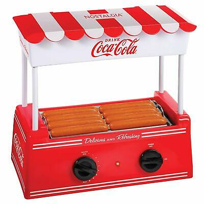 Hot Dog Roller Warmer Bratwursts Sausages Classic Coca Cola Retro Machine New