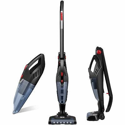 Deik 2 in 1 Animal Cordless Vacuum Cleaner 22.2V 2200mAh Upright Charging Base