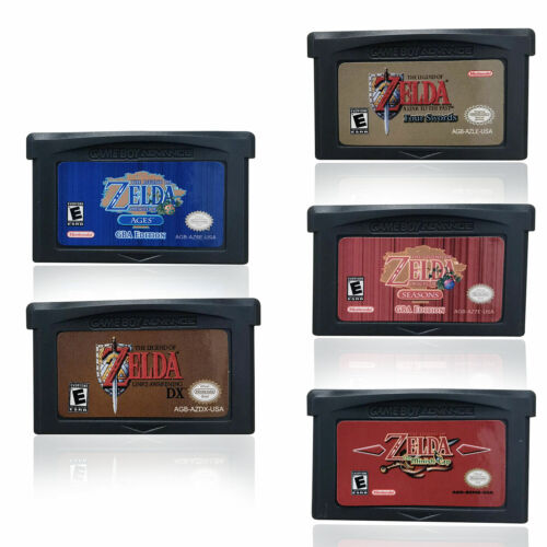 1-5 PCS The Legend of Zelda Cartridge Game Advance GBA/NDSL/
