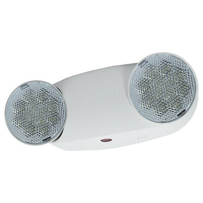 All Led Emergency Exit Light - High Output Bug Eye Ul Fire Code Safety - Elmw2