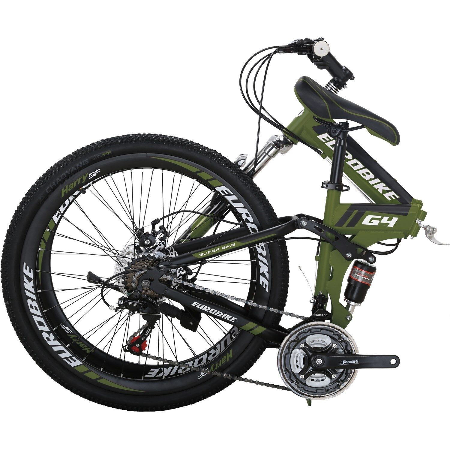 "26/"" Mountain Bike 18 Speed Hybrid Bicycle Shimano Suspension Fork School Sports"
