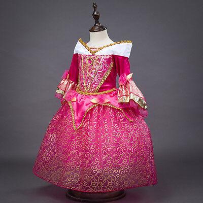 Sleeping Beauty Princess Aurora Party Dress kids Costume Dress for girls  - Sleeping Beauty Costumes For Teens