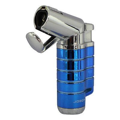Jobon Triple Jet Flame Butane Cigarette Cigar Torch Lighter – Blue
