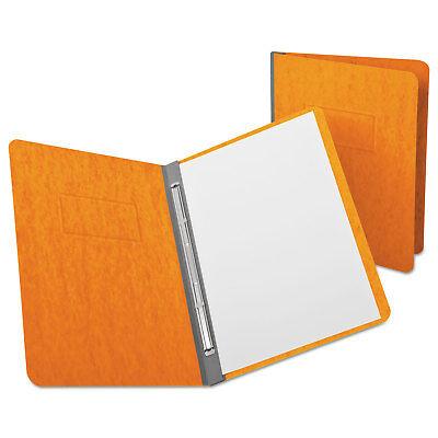 Oxford Pressguard Report Cover Prong Clip Letter 3 Capacity Tangerine 12731