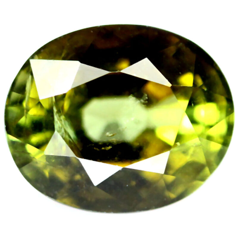 2.10 CT NATURAL! GREEN NIGERIA TOURMALINE OVAL