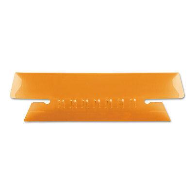 Pendaflex Hanging File Folder Tabs 13 Tab 3 12 Inch Orange Tabwhite Insert 25
