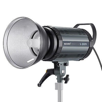 Neewer 300W Professional Studio Monolight Strobe Flash Light with Modeling Lamp