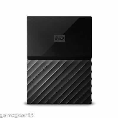 Western Digital WD My Passport 1TB USB 3.0 Portable External Hard Drive Black