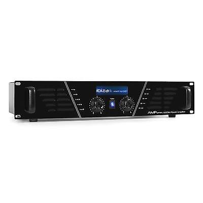 Ibiza Dj Pro Amplificatore Rack 960W Mosfet Pa 19