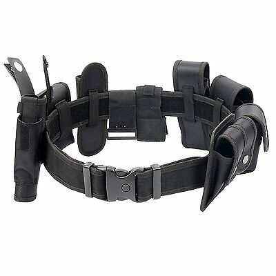 Police Security Guard Modular Enforcement Equipment Duty Belt Tactical Nylon Usa