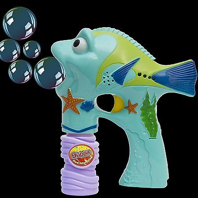 Bubble Blowing Shooter Gun With Light Bubble Shooter Gun Sounds And Music