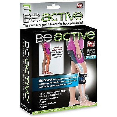 As Seen On Tv Beactive Therapeutic Brace Relieve Lower Back Pain And Sciatica