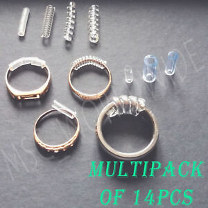 Ring Size Reducers For Loose Rings Clip Guard Sizer RESIZER ADJUSTERS 14PCS