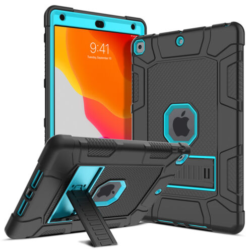 For iPad 10.2 2020 8th Gen 6th Generation 9.7 2018 Case Kickstand Stand Cover