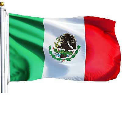 3x5 Mexico Flag Mexican Banner Pennant Bandera New Indoor - Flag Banner