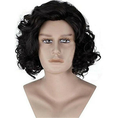 John Snow Wig Halloween Party Costume Game Of Thrones Hair GoT Theme Cosplay NEW - Game Themed Halloween Costumes
