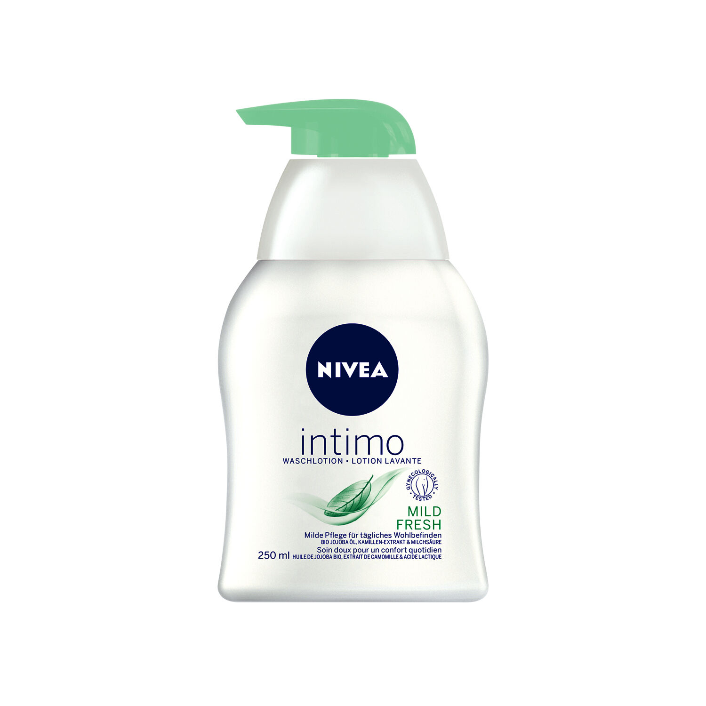 (16,48€/L) 250ml Nivea intimo Waschlotion Mild Fresh Intimpflege Pumpspender