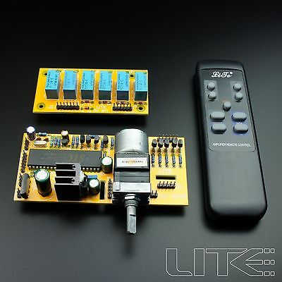LITE MV04 Motorized Remote Volume Control+Input Selector kit