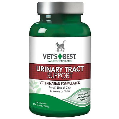 Vet's Best Cat Urinary Tract Support Aid 60 Chewable