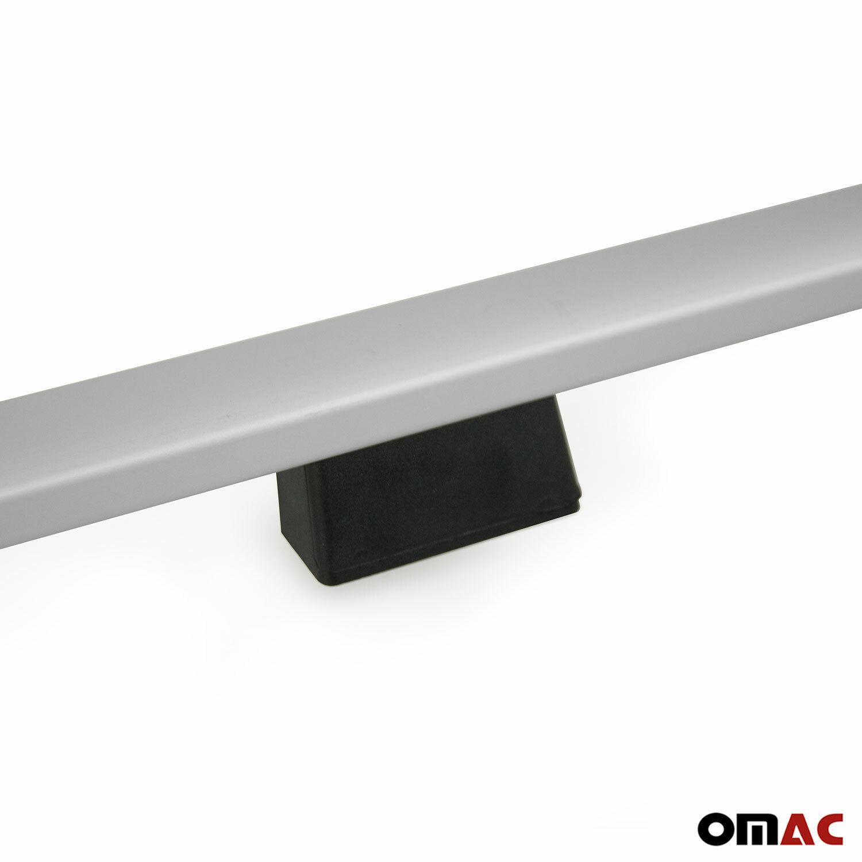 Dachreling Dachgepäckträger für Ford Tourneo Custom 2012-2021 Langer Alu Grau