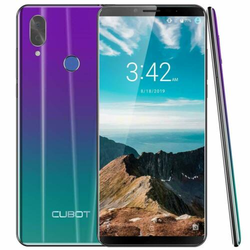 Cubot X19 Android 9.0 4GB+64GB Handy Octa Core Dual SIM Face ID Smartphone