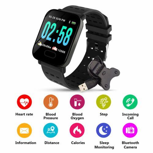 Smart Watch Heart Rate Monitor Pedometer Fitness Wristband