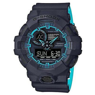 G-SHOCK GA700SE-1A2 Blue Men's Watch
